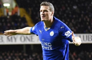 leicester city - Huth (foto:AFP)