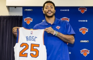 Derrick Rose no New York Knicks
