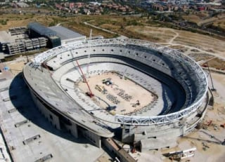 Novo estádio do Atlético de Madrid