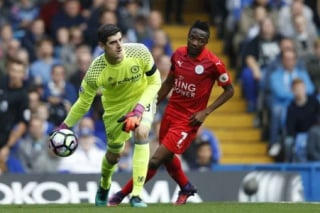 Courtois - Chelsea x Leicester