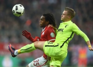 Max e Renato Sanches - Bayern de Munique x Augsburg