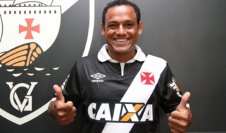 Marcinho - Com a camisa do Vasco