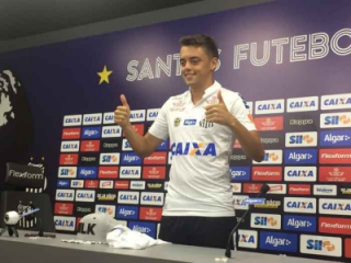 Matheus Ribeiro, do Santos