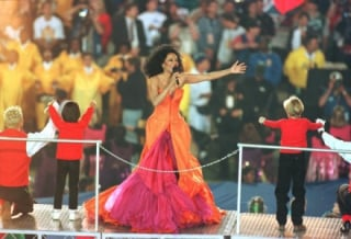 Diana Ross, Super Bowl de 1996