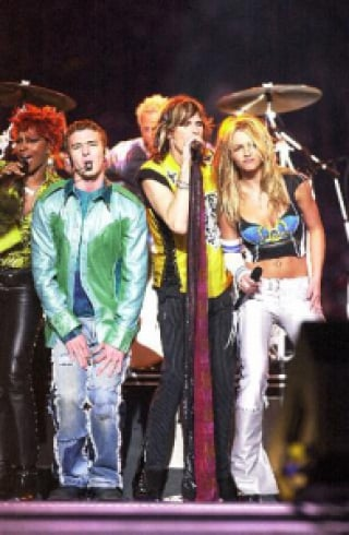 Britney Spears, Mary J e NSYNC, Super Bowl de 2001
