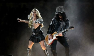 Fergie e Slash, Super Bowl de 2011