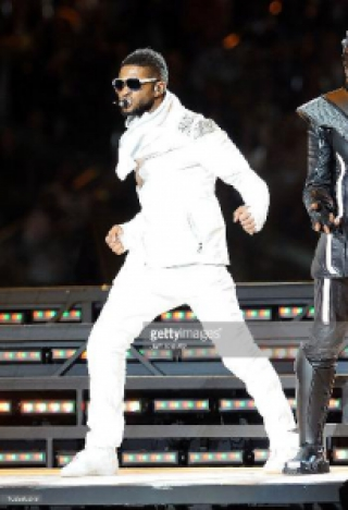 Usher, Super Bowl de 2011
