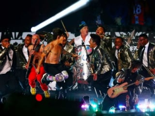 Red Hot Chili Peppers e Bruno Mars, Super Bowl de 2014