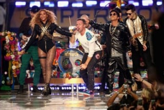 Beyoncé, Coldplay e Bruno Mars, Super Bowl de 2016