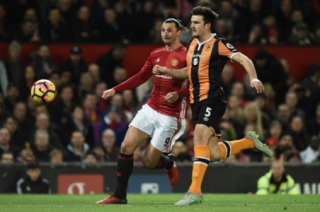 Ibrahimovic e Harry Maguire - Manchester United x Hull City