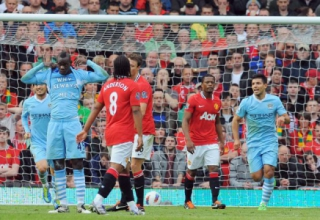 Manchester United 1x6 Manchester City - Premier League 2011/12