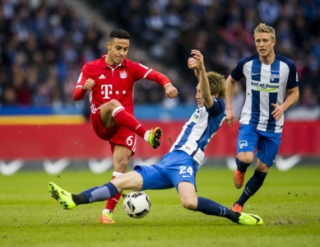 Hertha Berlin x Bayern de Munique