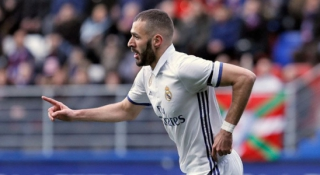 Eibar x Real Madrid - Benzema