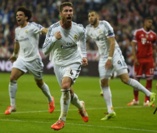 Sergio Ramos - Bayern de Munique x Real Madrid 2014