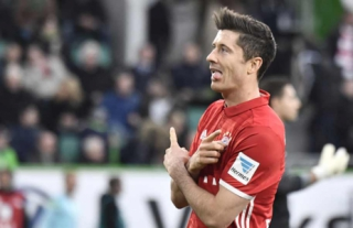 Lewandowski - Wolfsburg x Bayern de Munique