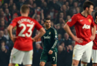 Manchester United 1 x 2 Real Madrid - Oitavas de final (2012/2013)