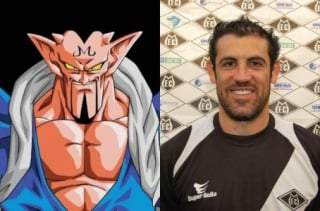 Finazzi e Dabura, personagem de 'Dragon Ball Z'
