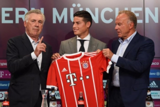James Rodríguez no Bayern de Munique