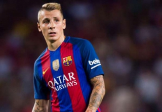 Lucas Digne, lateral do Barcelona