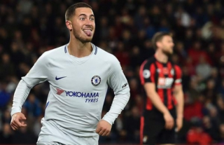 Hazard - Bournemouth x Chelsea
