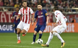 Messi - Olympiacos x Barcelona