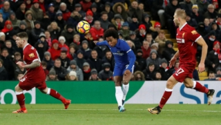 Liverpool x Chelsea - Willian