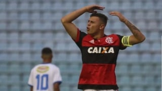 HUGO MOURA - volante do Flamengo na Copinha