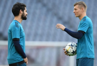 Isco e Kroos - Real Madrid