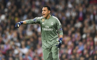 Keylor Navas - Real Madrid x Bayern de Munique