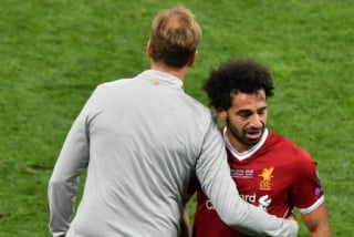 Klopp e Salah - Real Madrid x Liverpool