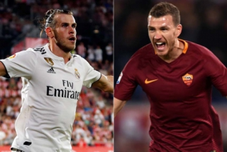 Real Madrid (Bale) x Roma (Dzeko)
