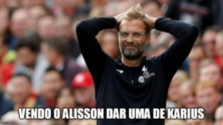 Web repercute falha de Alisson na Premier League