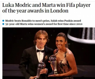 The Guardian - Modric