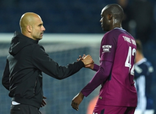 Pep Guardiola x Yaya Toure - Manchester City