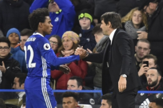 Antonio Conte x Willian - Chelsea