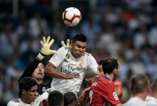 Casemiro - Real Madrid x Atlético de Madrid