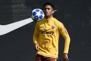 Justin Kluivert (Roma)