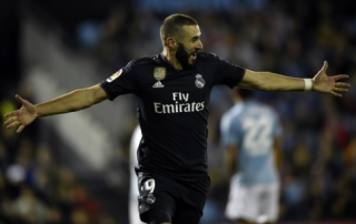Celta x Real Madrid - Benzema