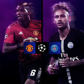 Manchester United x PSG - Champions
