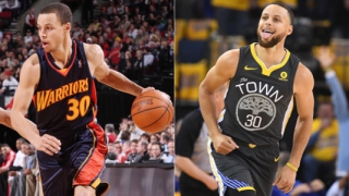 Montagem Stephen Curry - #10YearsChallenge