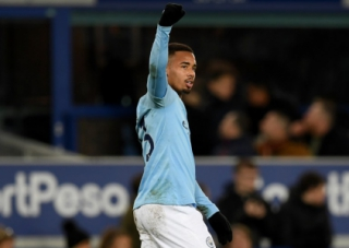 Everton x City - Gabriel Jesus