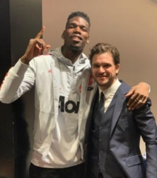 Kit Harington e Pogba