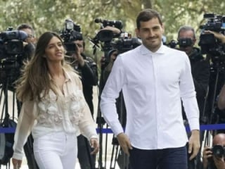 Casillas e Sara Carbonero