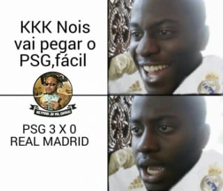 Champions League: os memes de PSG 3 x 0 Real Madrid