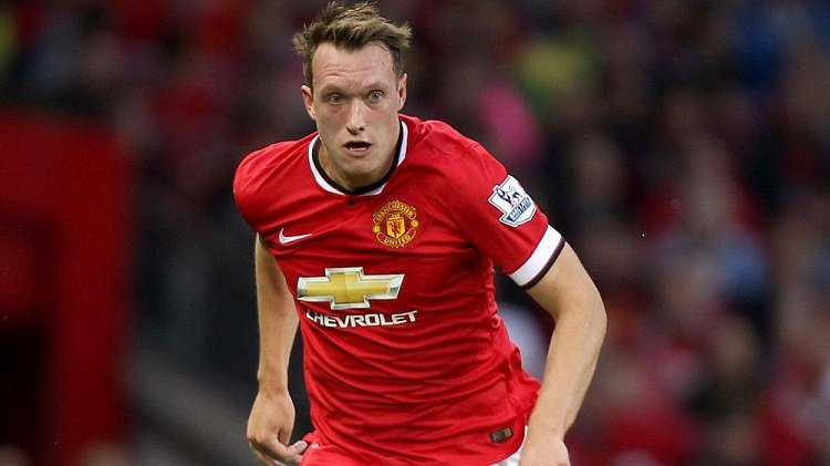 Phil Jones do Manchester United