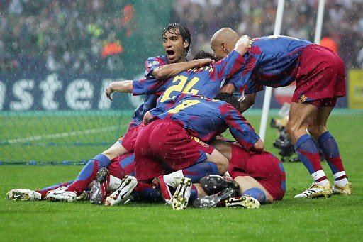 Gol de Belletti - Barcelona x Arsenal - 2006