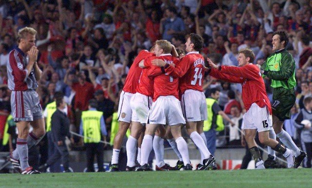 Manchester United x Bayern de Munique 1999