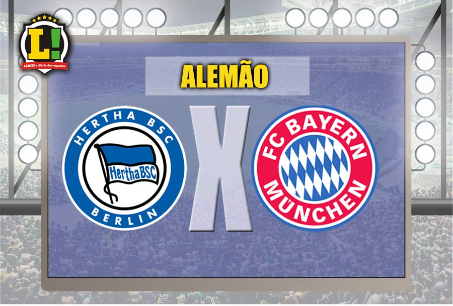 ALEMÃO: Hertha Berlin x Bayern de Munique