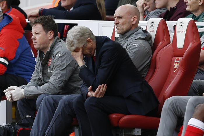 Arsenal x Manchester City - Wenger