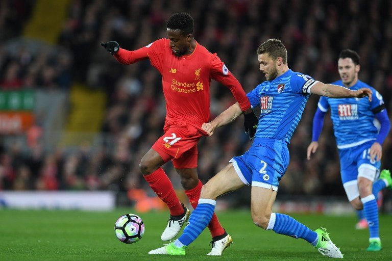 Origi - Liverpool x Bournemouth